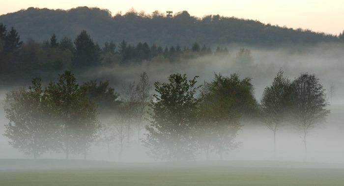 Nebel im Dorf.....