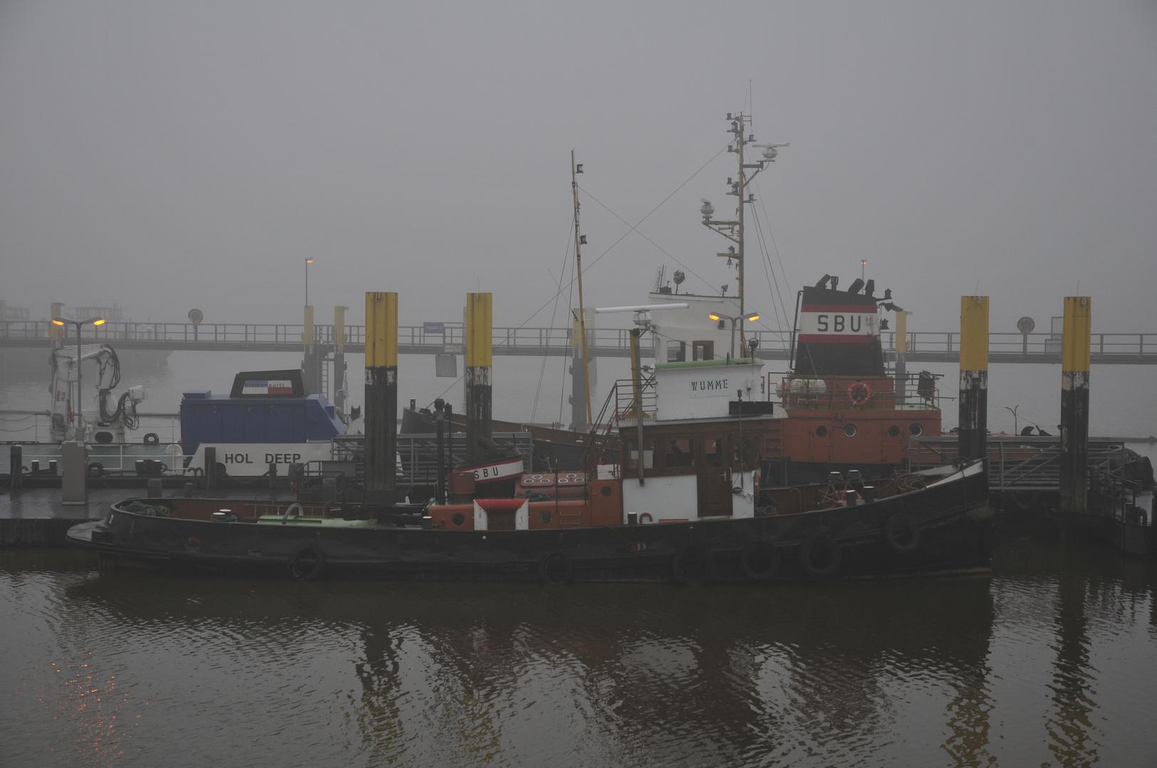 Nebel im Hafen...