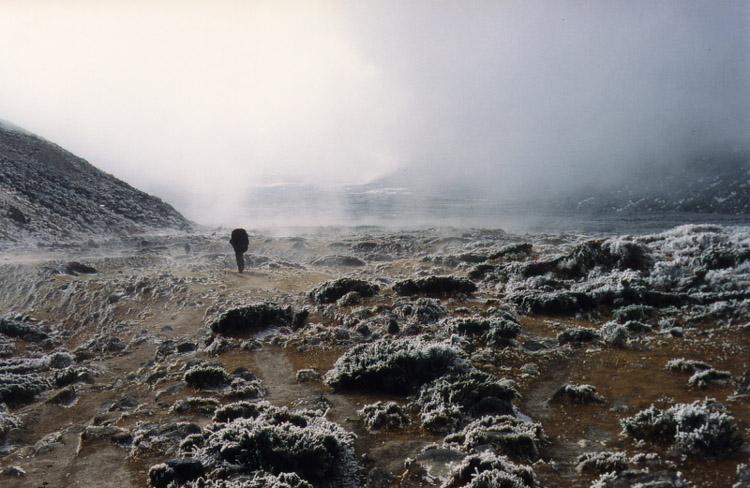 Nebel im Khumbu