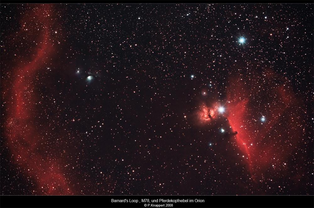 Nebel im Sternbild Orion
