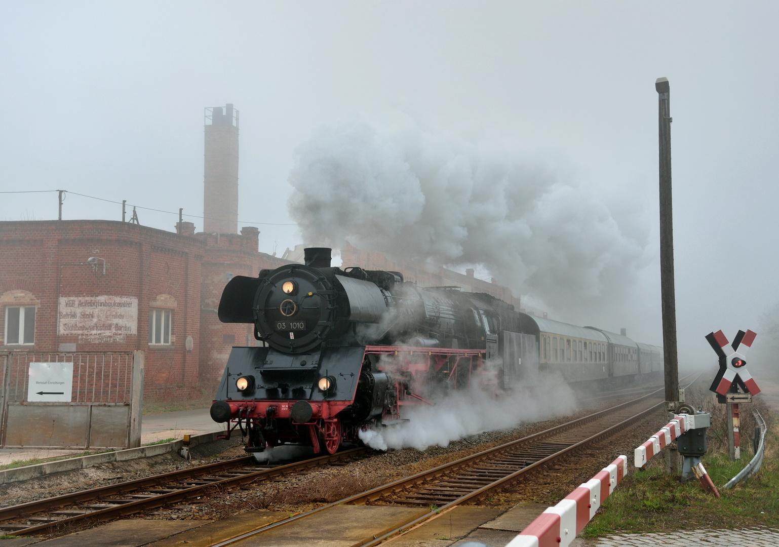 Nebel in Bernburg