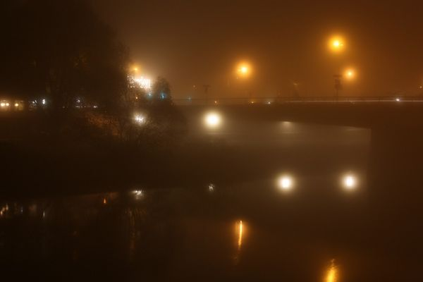 Nebel in Essen- Werden