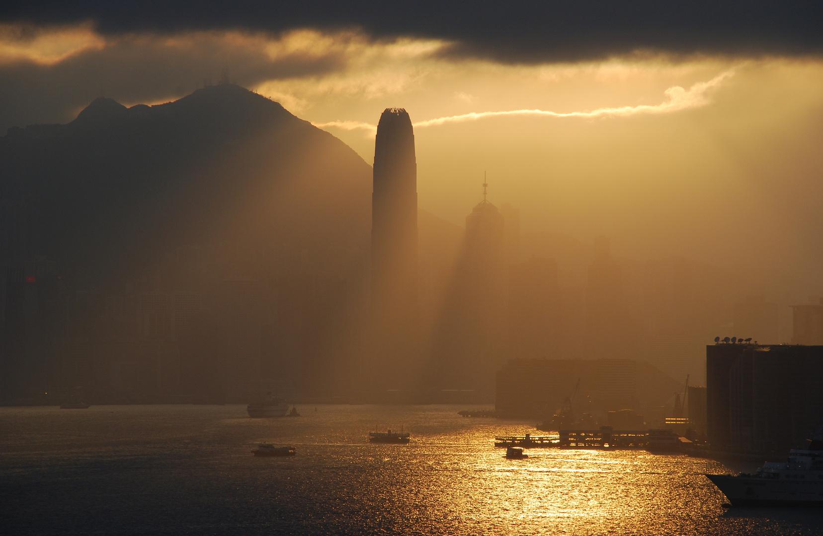 Nebel in Hong Kong