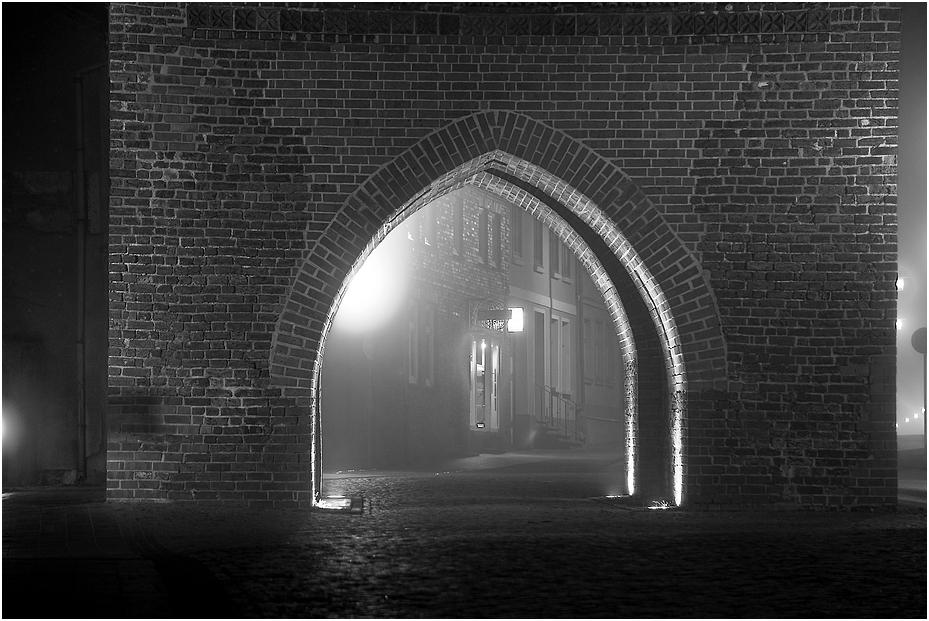 Nebel in Ribnitz