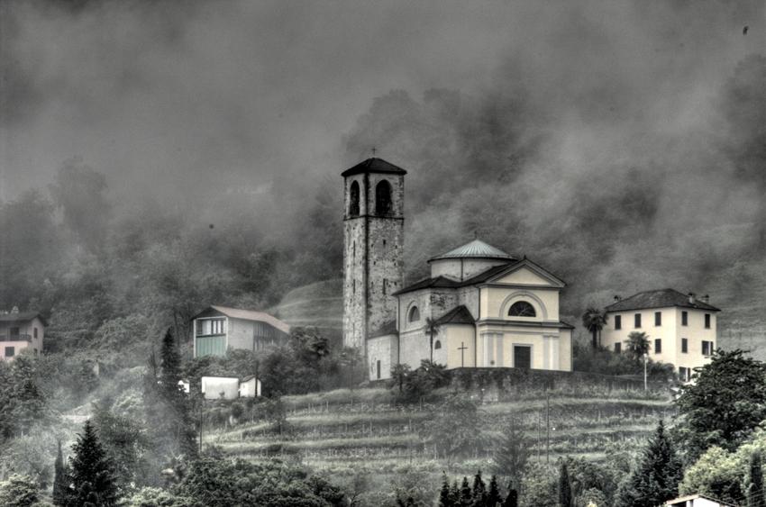 Nebel in Sant Abbondio