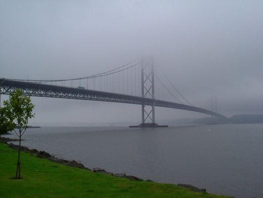 Nebel in Schottland