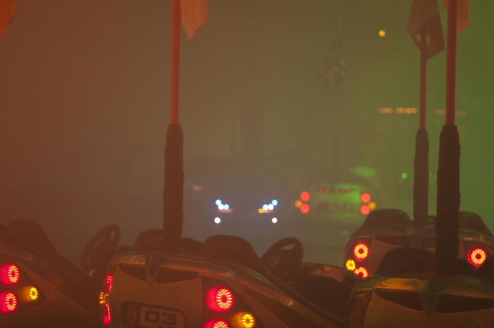Nebel mit Sichtweiten...