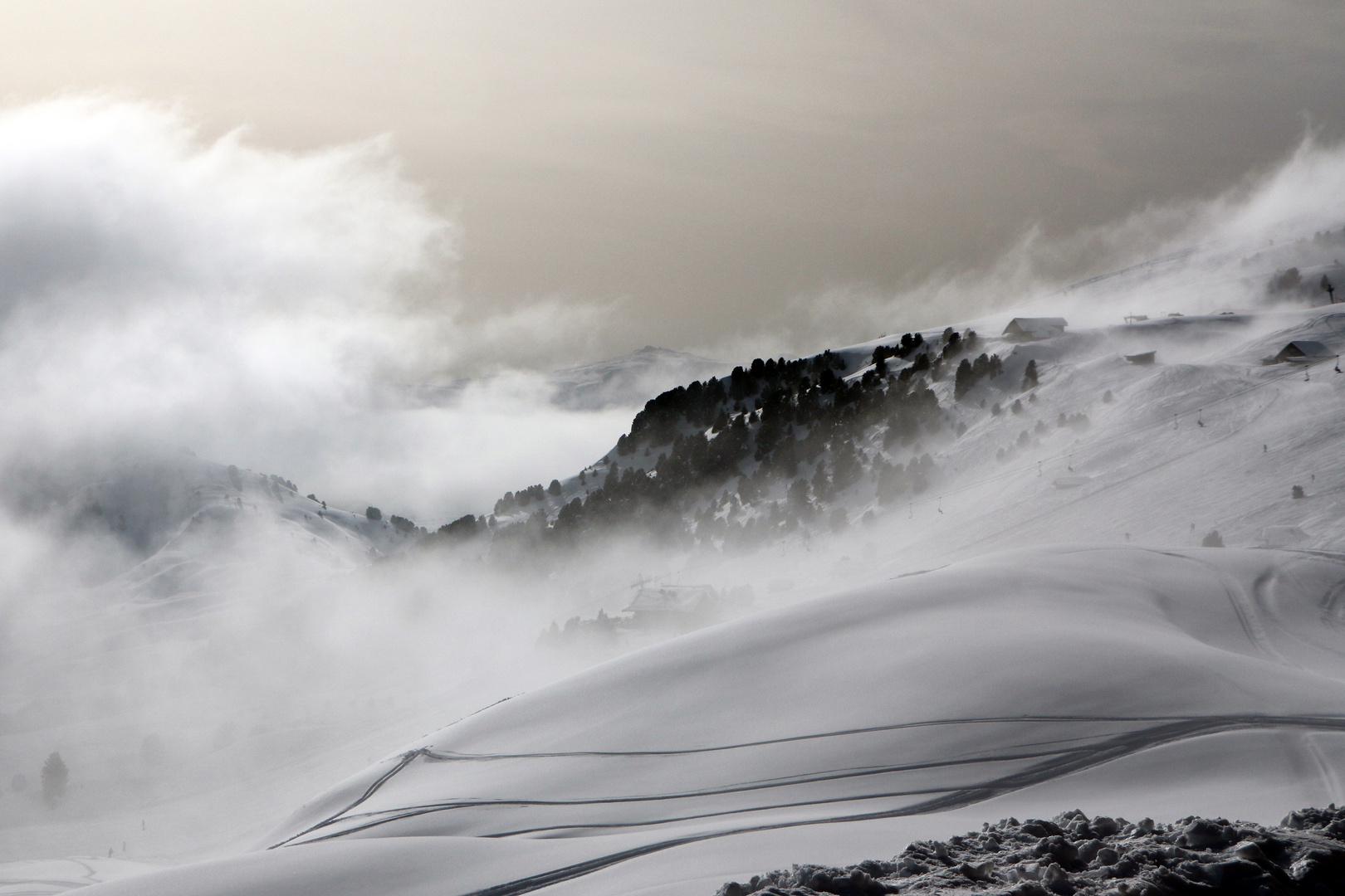 Nebel steigen auf