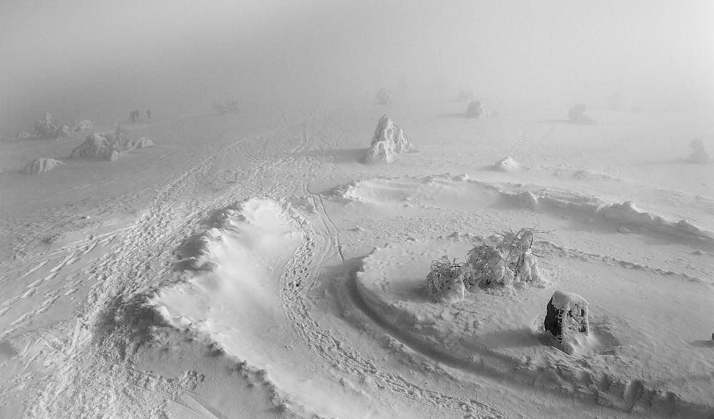 Nebel über der Hornisgrinde