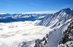 Nebel über Innsbruck