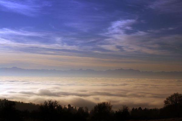 Nebel über Markdorf