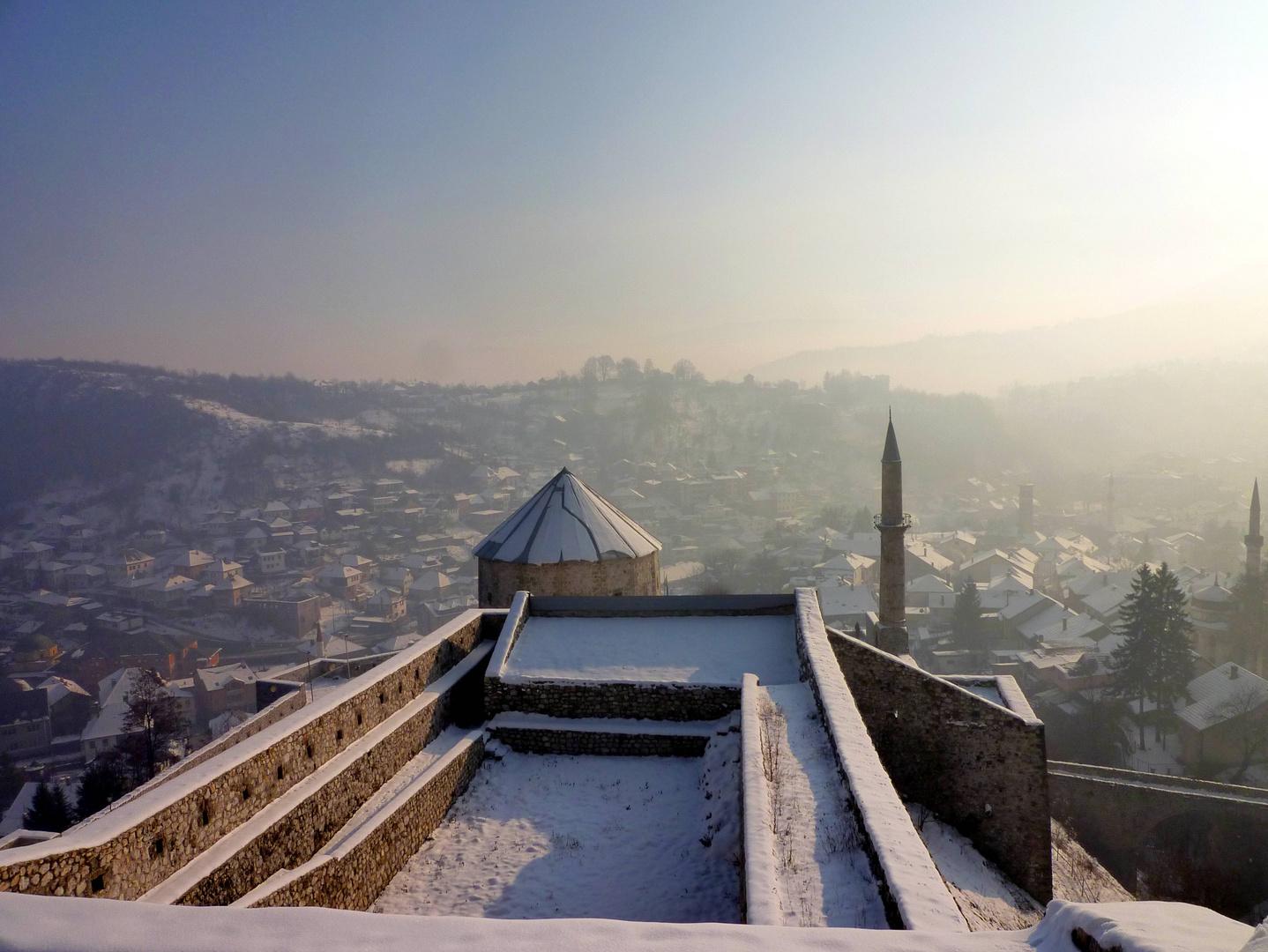 Nebel über Travnik ...