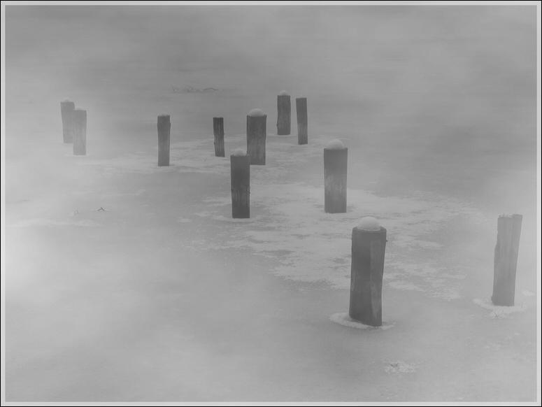 Nebel und Eis