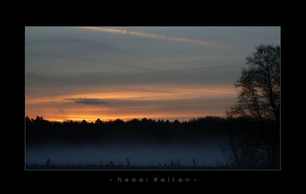Nebel Welten, Auf dem Weg zur Arbeit;) *reloadet*