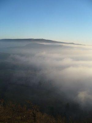 Nebel zieht auf...