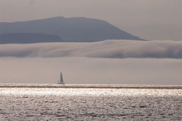 Nebelbank vor Skye