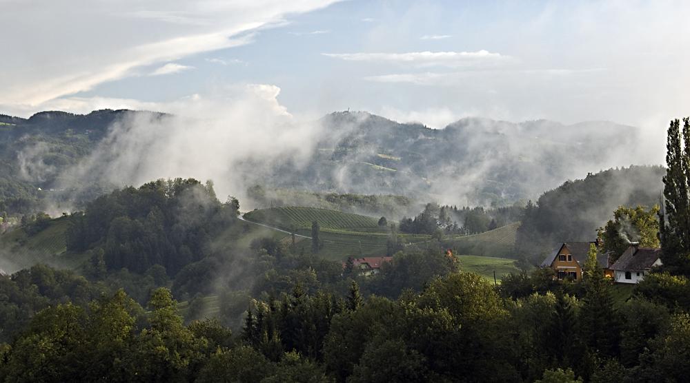 Nebelfetzen