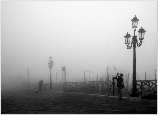 Nebelfoddo's will halt jeder Knipser in Venedig machen...