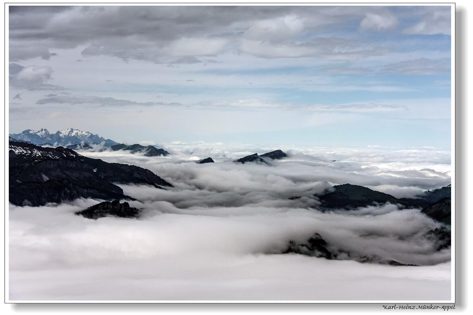 Nebelhorn _ Über den Wolken