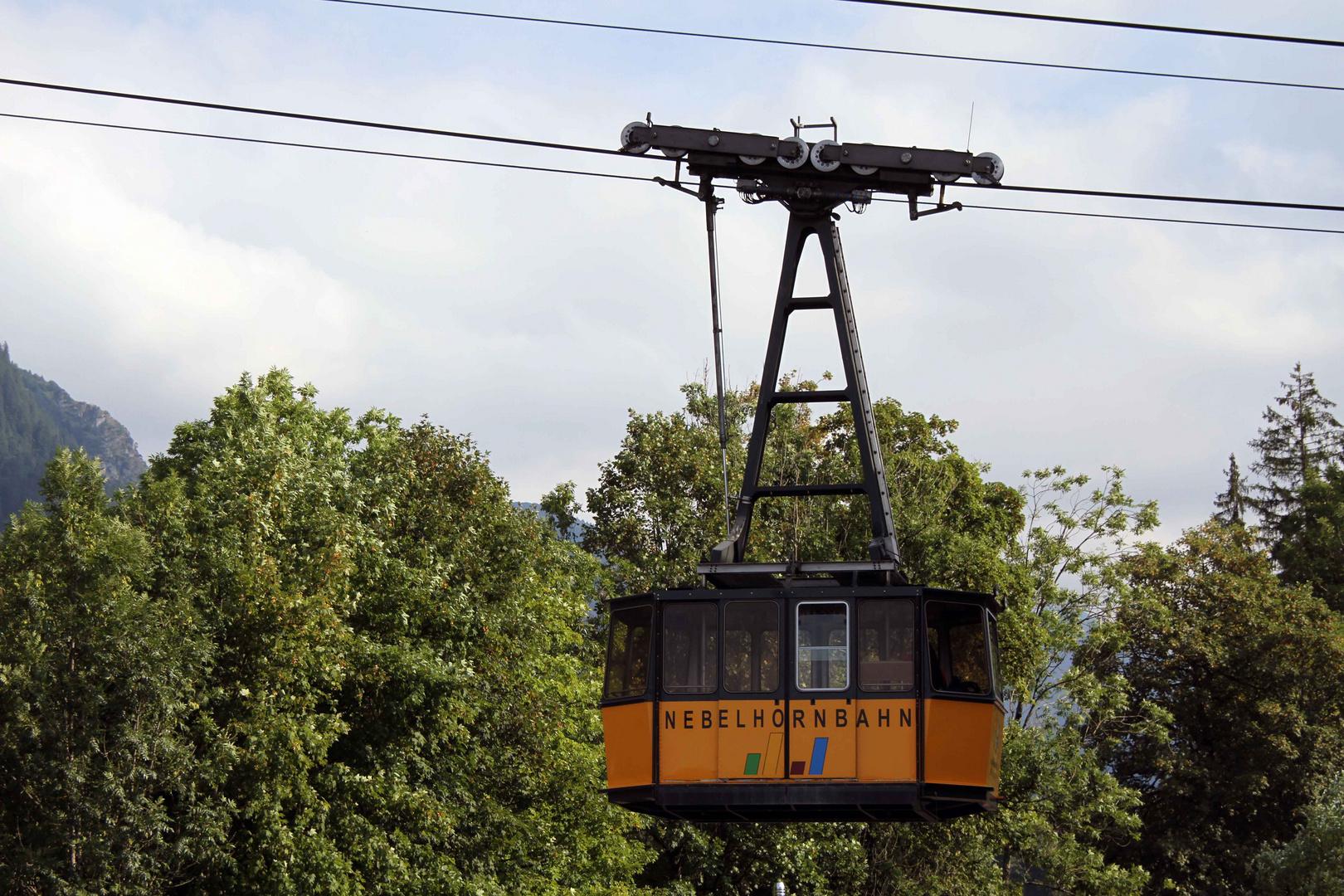 Nebelhornbahn in Oberstdorf
