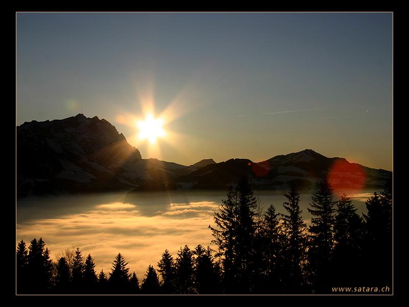 Nebelmeer am Säntis