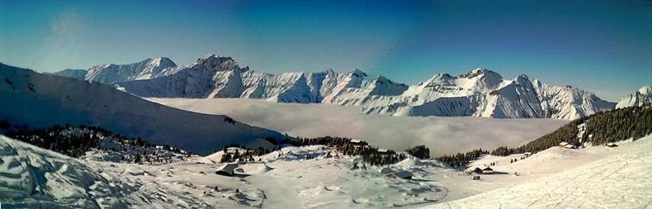 Nebelmeer im Berner Oberland