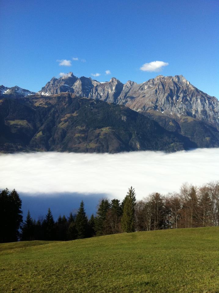 Nebelmeer im Urnerland