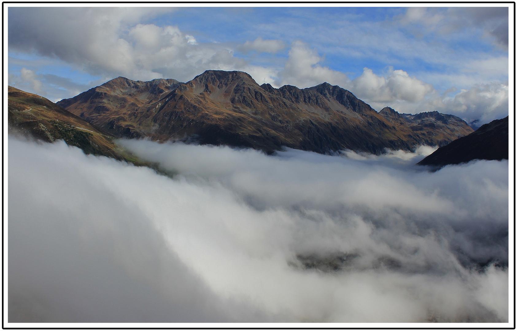 Nebelmeer über Andermatt