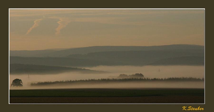 Nebelmorgen...