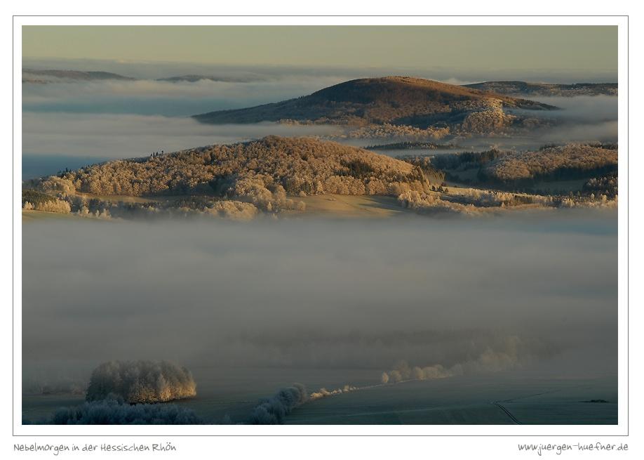 Nebelmorgen in der Hessischen Rhön