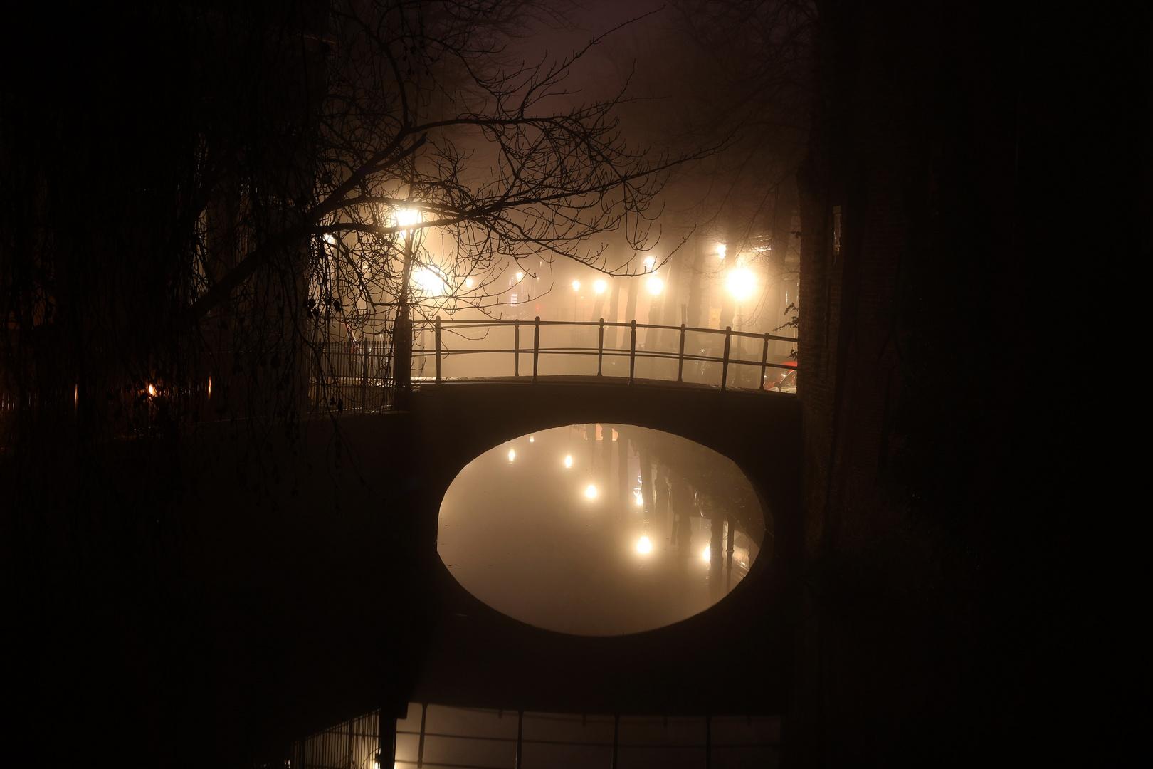 Nebelnacht in Amersfoort