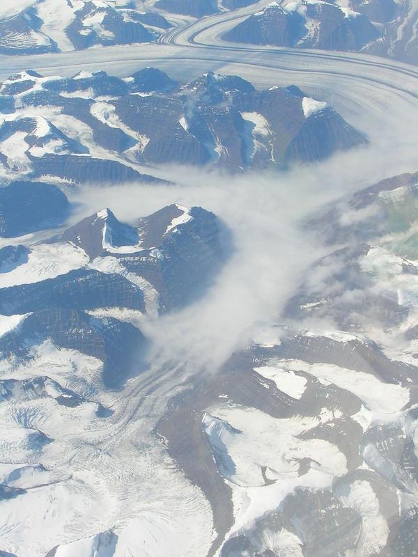 nebelquell treibender ozean