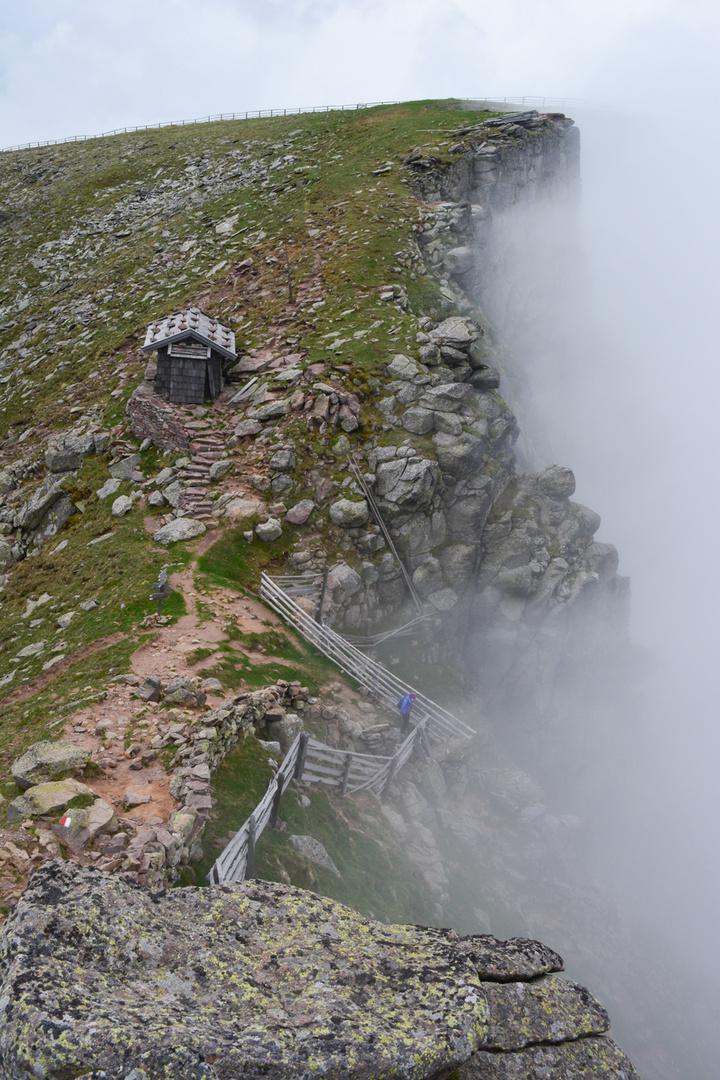 Nebelriegel Sarnerscharte