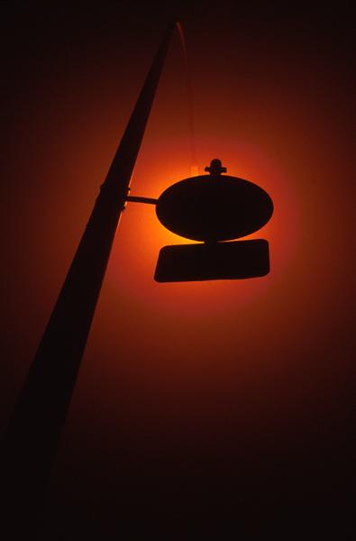 Nebelschildlampe