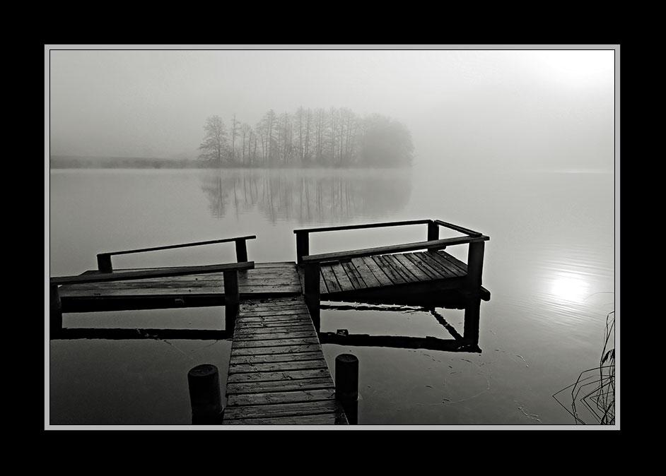 Nebelstimmung am Hartsee 1