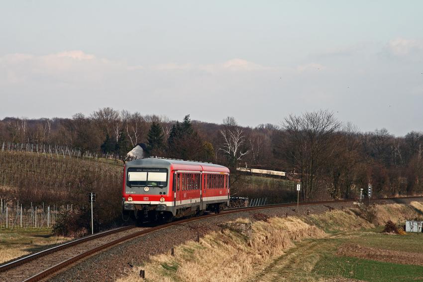 Nebenbahnromantik in der Pfalz