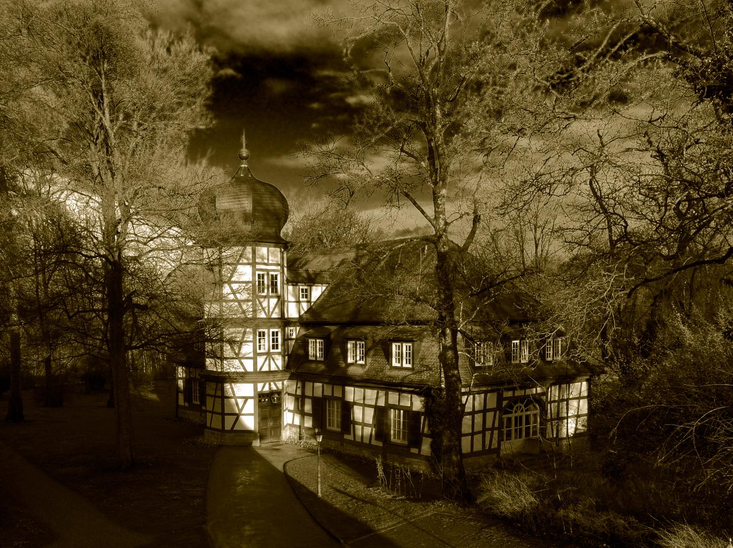 Nebengebäude Schloss Friedrichsruhe