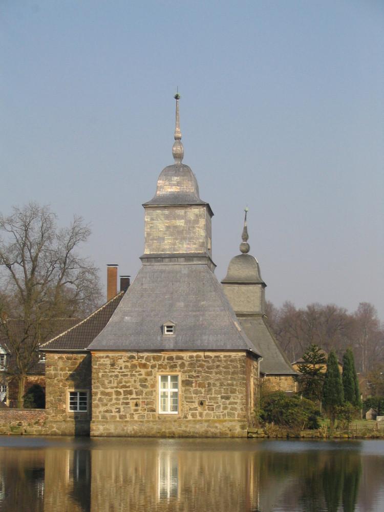 Nebengebäude von SChloss Lembeck in Dorsten