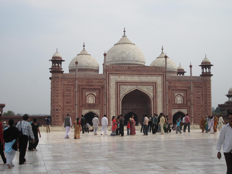 Nebengelass beim Tai Mahal
