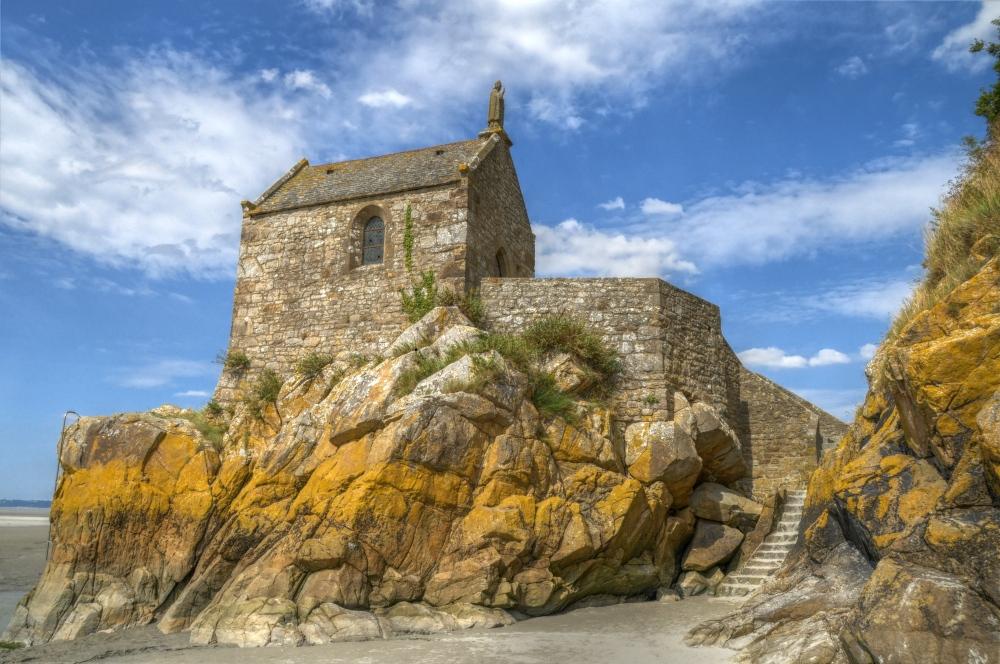 Nebenkapelle des Mont St. Michel