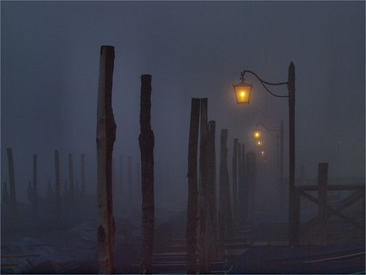 Nebliges Venedig...