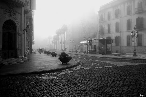 Neblina B/N