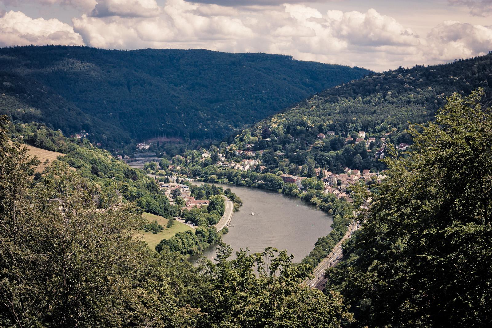 Neckar bei Heidelberg 2