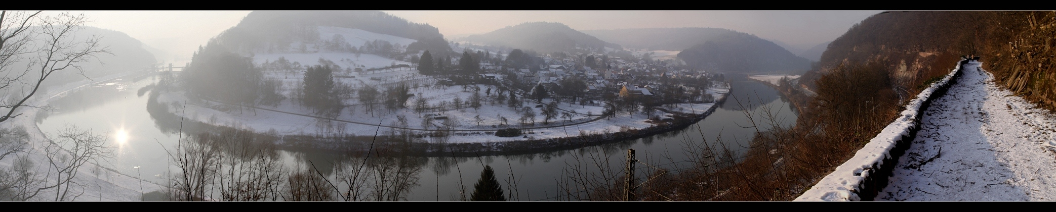 Neckar-Höhenweg-Panorama