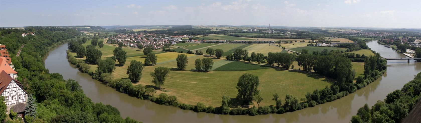 Neckarblick (vom Blauen Turm aus)