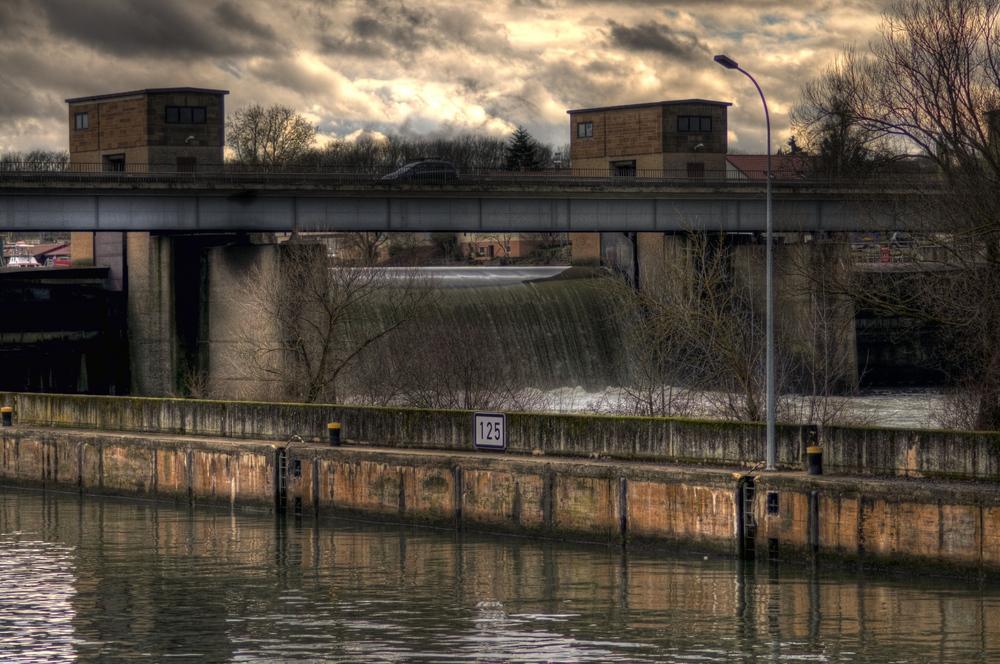 Neckarbrücke Lauffen HDR