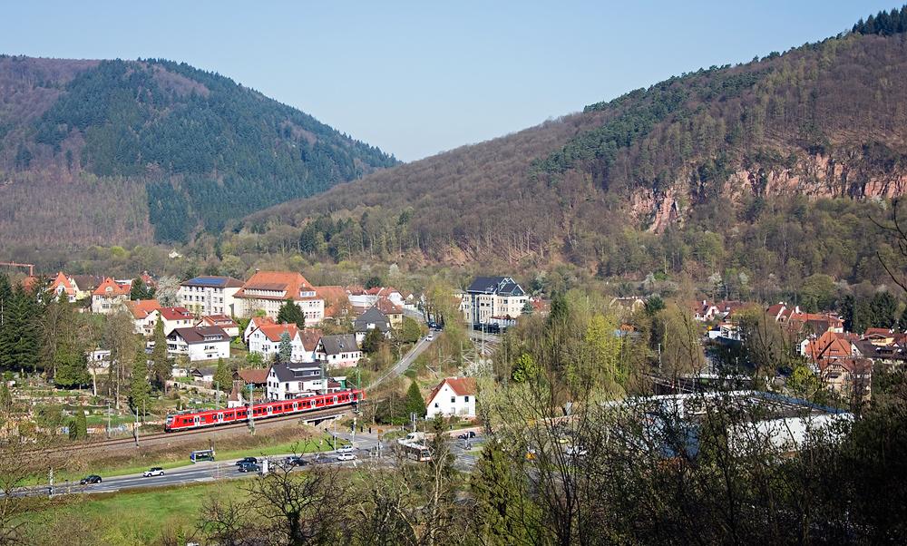 Neckargemünd heißt Neckargemünd, weil hier die Elsenz in den Neckar mündet.