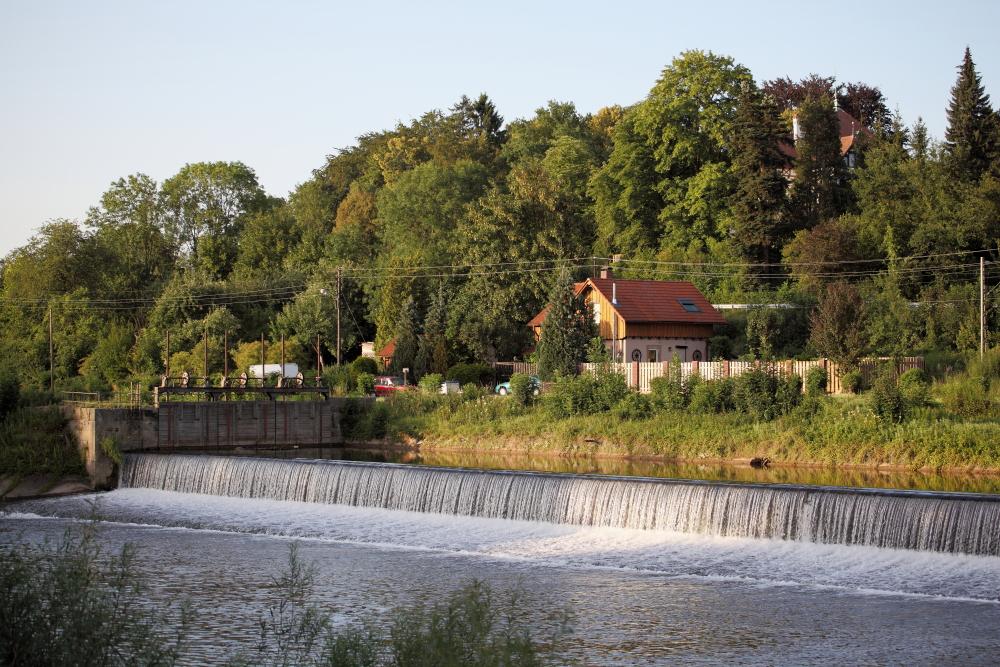 Neckarwehr bei Unterensingen