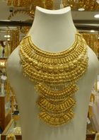 Necklace at Gold Souk