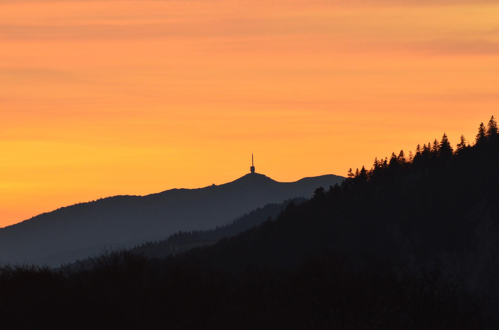 Needle on the Peak....